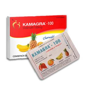 KAMAGRA CHEWABLE TABLETS | 4 TABLETS