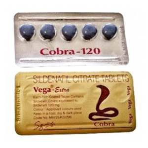 COBRA VEGA 120mg BLUE | 5 TABLETS